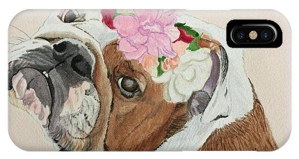 Bulldog Bridesmaid IPhone Case