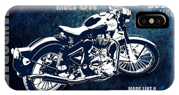 Bullet Blues With Caption IPhone Case