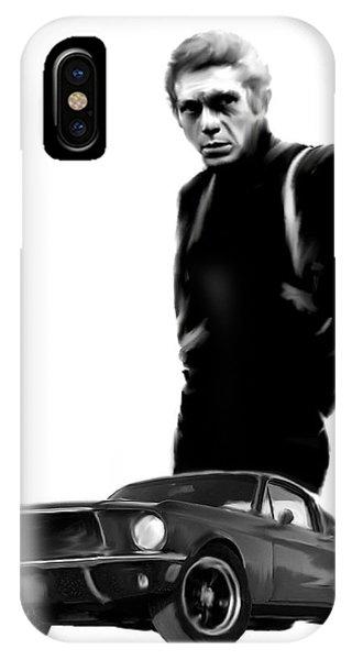 Bullitt Cool  Steve Mcqueen IPhone Case