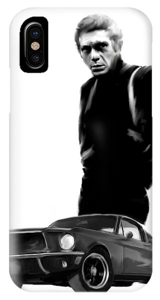 Bullitt Cool  Steve Mcqueen IPhone Case