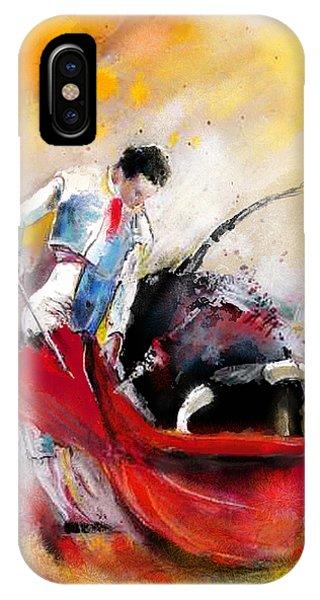 Bullfight 73 IPhone Case
