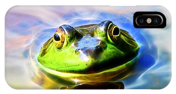 Bullfrog IPhone Case