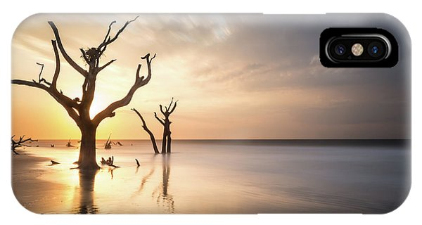 Long Exposure iPhone Case - Bulls Island Sunrise by Ivo Kerssemakers