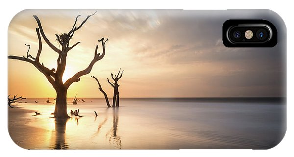Bull iPhone Case - Bulls Island Sunrise by Ivo Kerssemakers