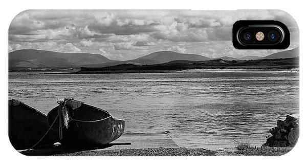 Bullsmouth Pier Achill Island IPhone Case