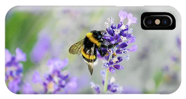 IPhone Case featuring the photograph Bumblebee by Bee-Bee Deigner
