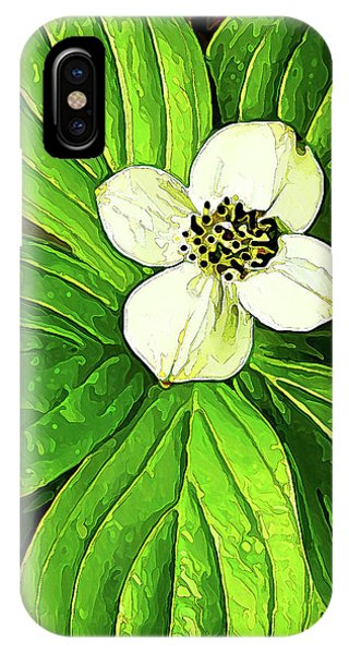 Bunchberry Blossom IPhone Case