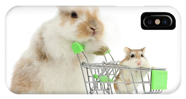 Bunny Shopping IPhone Case