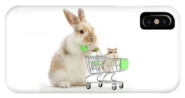 Bunny Shopping IPhone Case