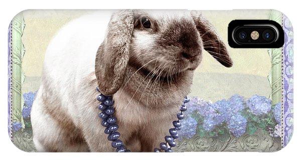 Bunny Wears Beads IPhone Case