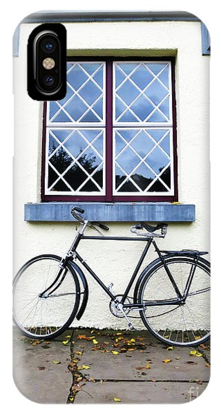 IPhone Case featuring the photograph Bunratty Bike by Rick Locke