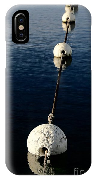 IPhone Case featuring the photograph Buoy Descending by Stephen Mitchell