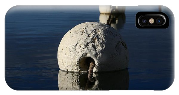 IPhone Case featuring the photograph Buoy Upfront by Stephen Mitchell