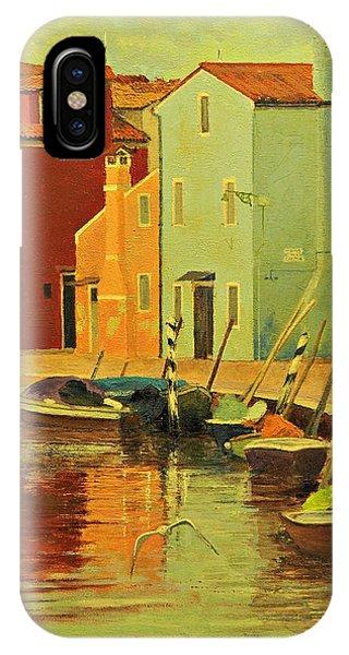 Burano, Italy - Study IPhone Case