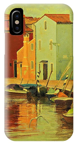 Burano, Italy - Study IPhone Case