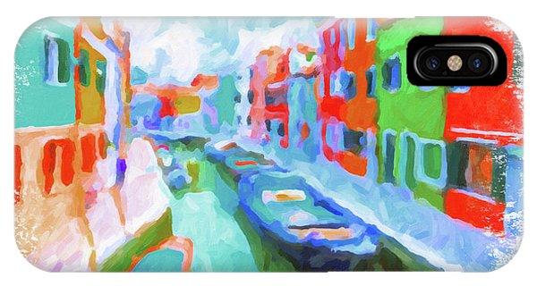 Burano, Venice, Italy IPhone Case