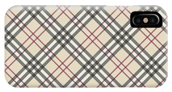 Burberry Pattern IPhone Case