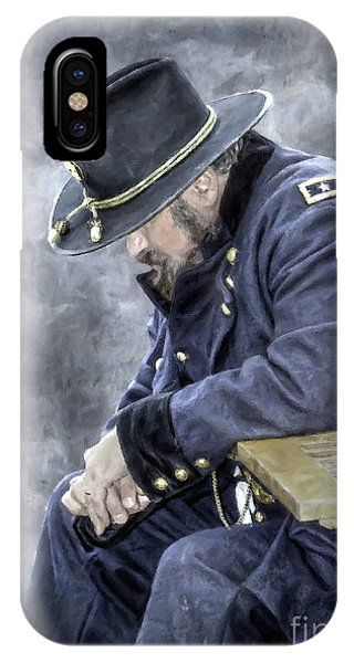 Burden Of War Civil War Union General IPhone Case