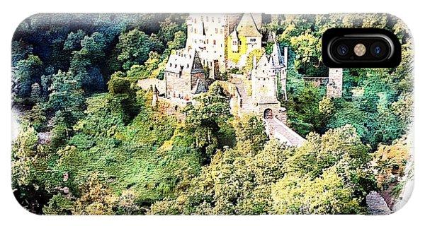 Burg Eltz - Moselle IPhone Case
