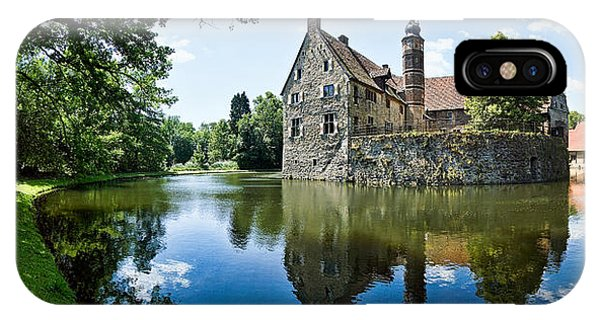 Castle iPhone Case - Burg Vischering by Dave Bowman