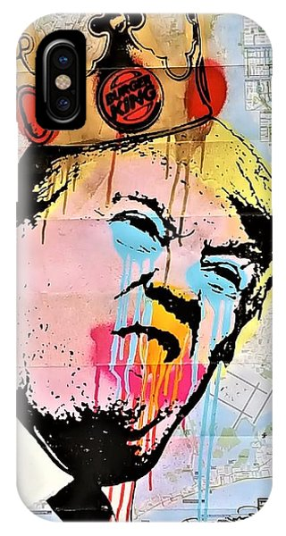 iPhone Case - Burger King Trump by Rob Hans