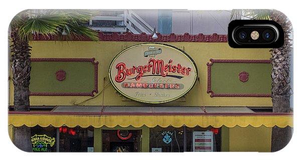 Burgermeister Restaurant, San Francisco IPhone Case