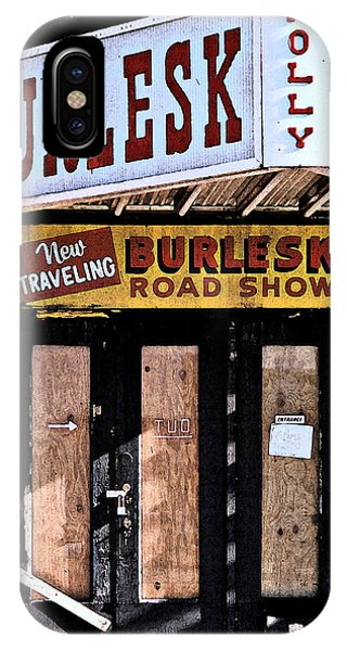 Burlesk At The Folly IPhone Case