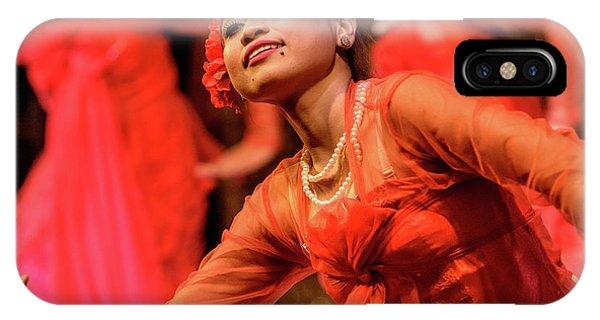 Burmese Dance 1 IPhone Case