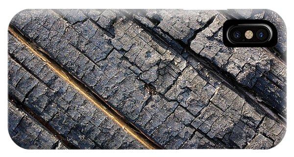 Burnt Bark IPhone Case