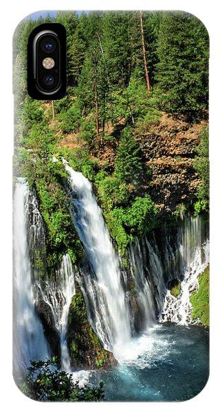 Burney Falls IPhone Case