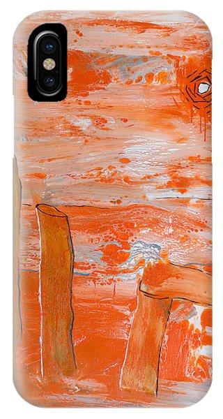 Burning Bay IPhone Case