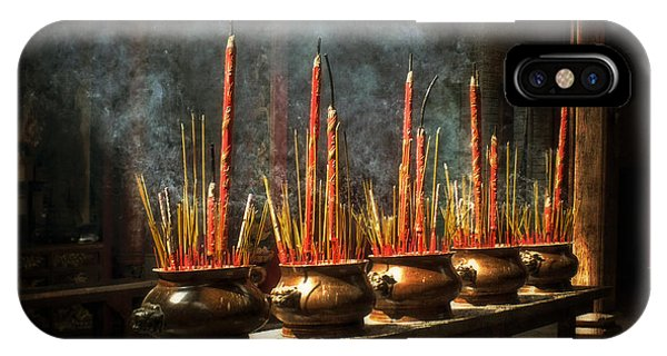 Burning Incense IPhone Case