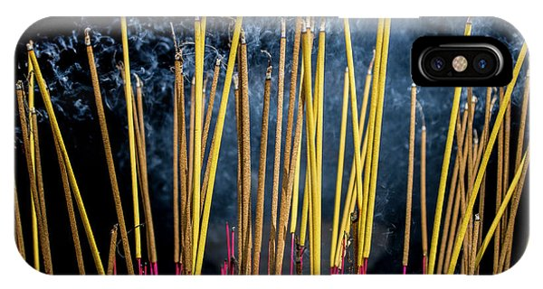 Burning Joss Sticks IPhone Case