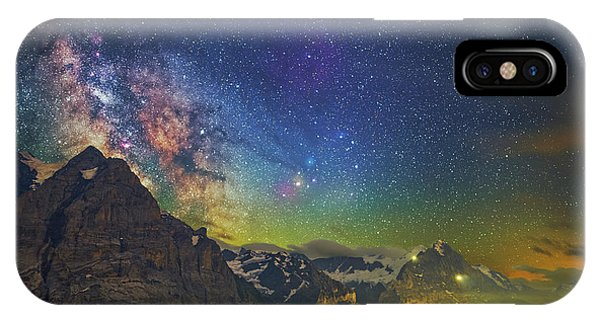 Burning Skies IPhone Case