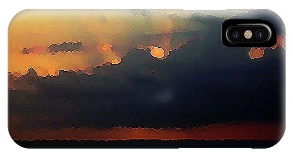 Burnished Sky IPhone Case