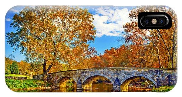 Burnside Bridge At Antietam IPhone Case