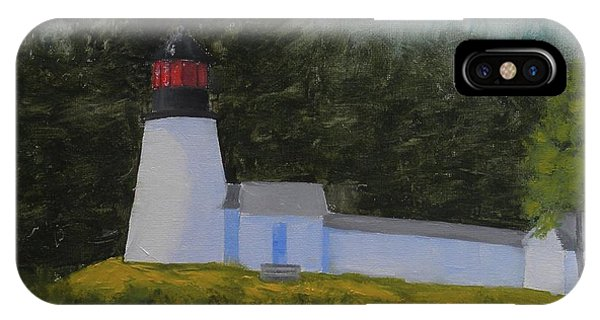 Burnt Island Light IPhone Case