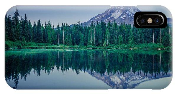 Burnt Lake Reflection IPhone Case