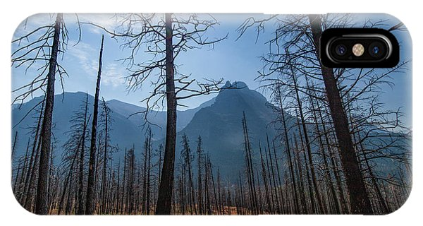 IPhone Case featuring the photograph Burnt Offerings by Lon Dittrick