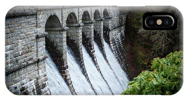 Burrator Reservoir Dam IPhone Case