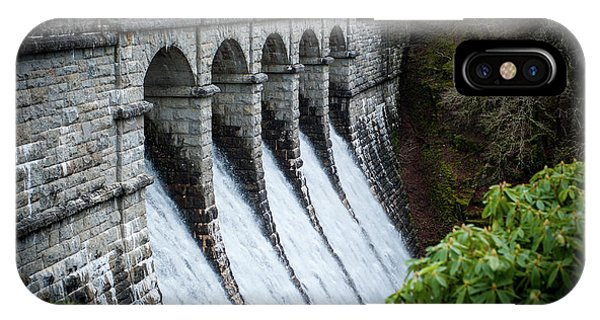 Burrator Reservoir Dam IPhone Case