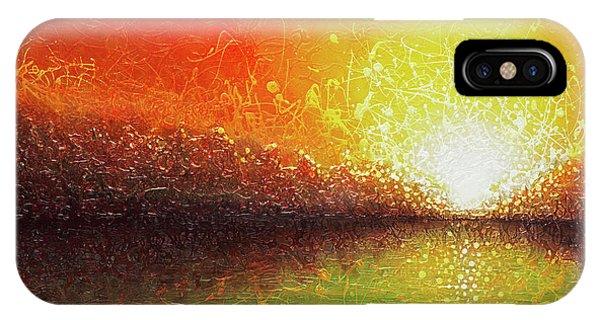 Bursting Sun IPhone Case
