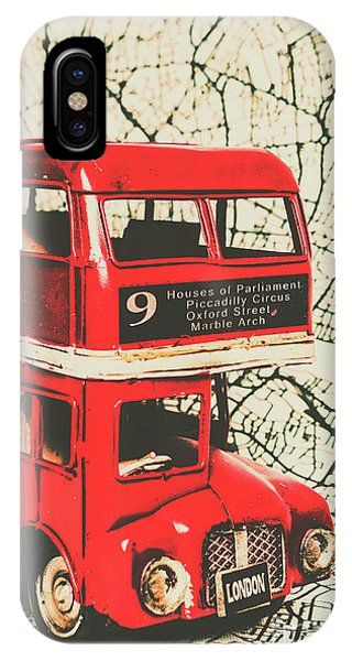 Commute iPhone Case - Bus Line Art by Jorgo Photography - Wall Art Gallery