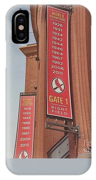 Busch Stadium - Cardinals Baseball IPhone Case