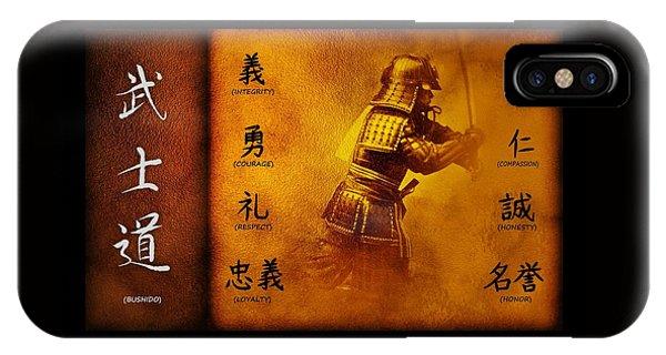 Bushido Way Of The Warrior IPhone Case