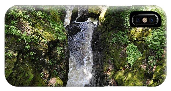 Bushkill Fall - Three IPhone Case
