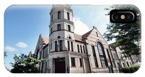 Bushwick Avenue Central Methodist Episcopal Church IPhone Case