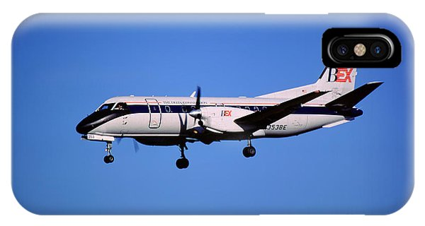 Business Express, Delta Connection, N353be, Bex Saab 340b IPhone Case