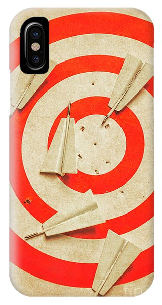 Hit iPhone Case - Business Target Practice by Jorgo Photography - Wall Art Gallery