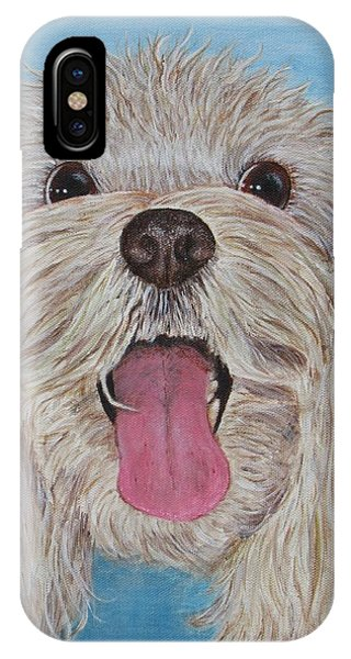 IPhone Case featuring the painting Buster by Nancy Nale